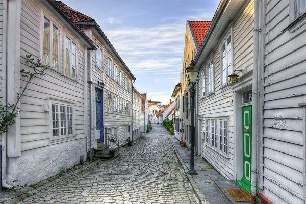 Рыбацкий квартал Gamle Stavanger