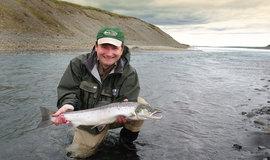 Рыбалка на лосося. Ловля лосося на реках Исландии