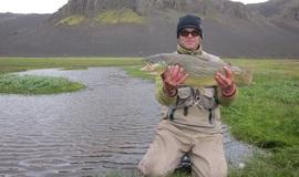Риболовля на форель. Ловля форелі на озерах Ісландії
