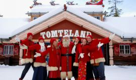Де живе Санта Клаус?