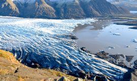 Самые известные ледники Исландии на карте: прикоснитесь к тысячелетнему снегу