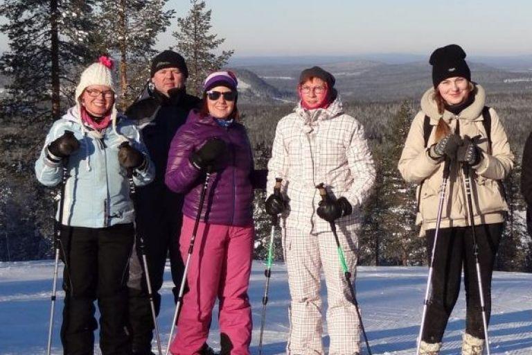 Екскурсія на снігоступах