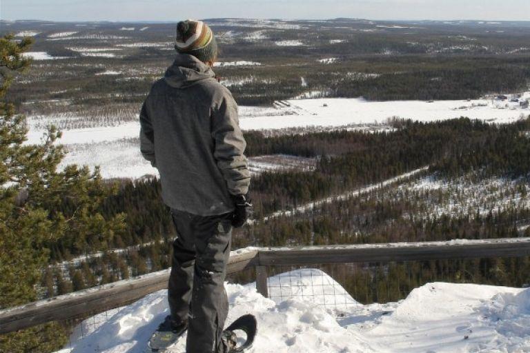 Экскурсия на снегоступах