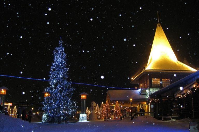 Поїздка до Селища Санта-Клауса