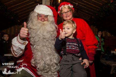 Семейный тур в Леви на Рождество