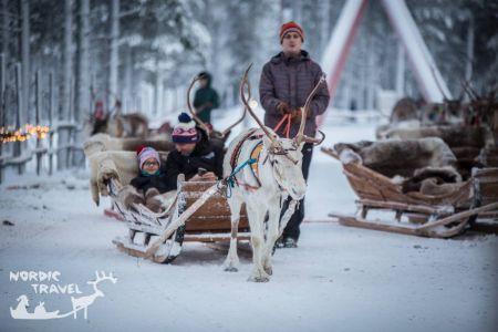 Тур на горнолыжный курорт Леви на Cтарый Новый год