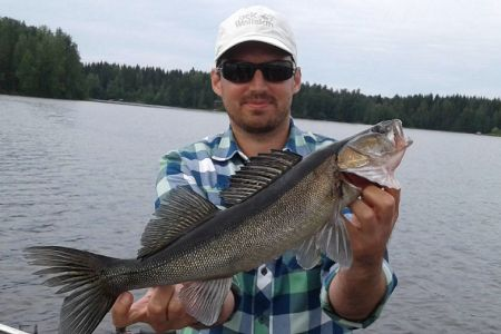 Бюджетна риболовля на південному заході Фінляндії