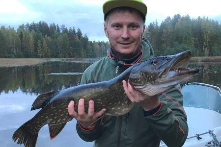 VIP риболовля на озері Саймаа (Фінляндія)