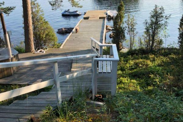 Риболовля на озері Куолімо в східній Фінляндії