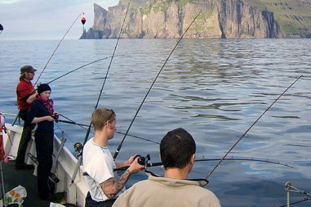 Морська риболовля на Фарерських островах, Данія