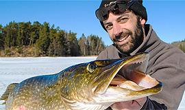 Риболовля на щуку. Ловля щуки в Фінляндії.