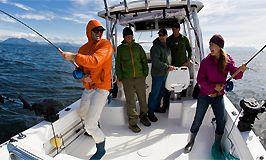 Платна морська риболовля на півночі