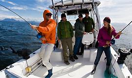 Платная морская рыбалка на севере