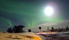 День и ночь в Лапландии