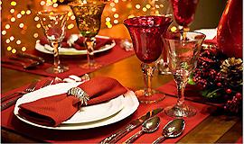 Праздничный ужин в Леви на Новый Год и Рождество 2019
