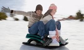 Идеальные условия для зимних развлечений
