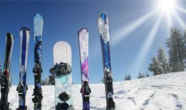 Аренда горнолыжного снаряжения в Леви