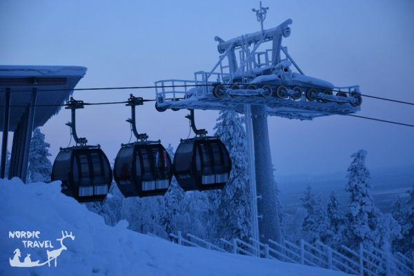 Гірськолижний курорт Леві (Фінська Лапландія)