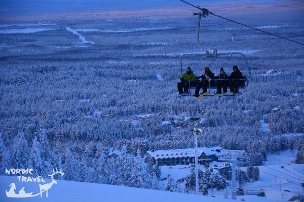Горнолыжный курорт Леви, Финляндия