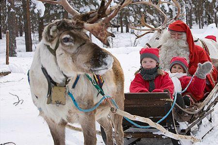 Тур до Санта Клауса у Рованіемі