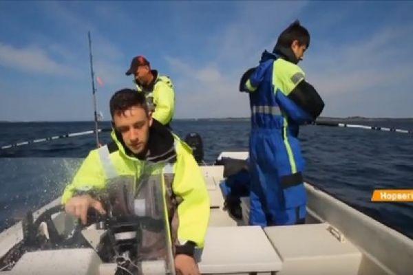 ICTV про нашу морскую рыбалку в Норвегии