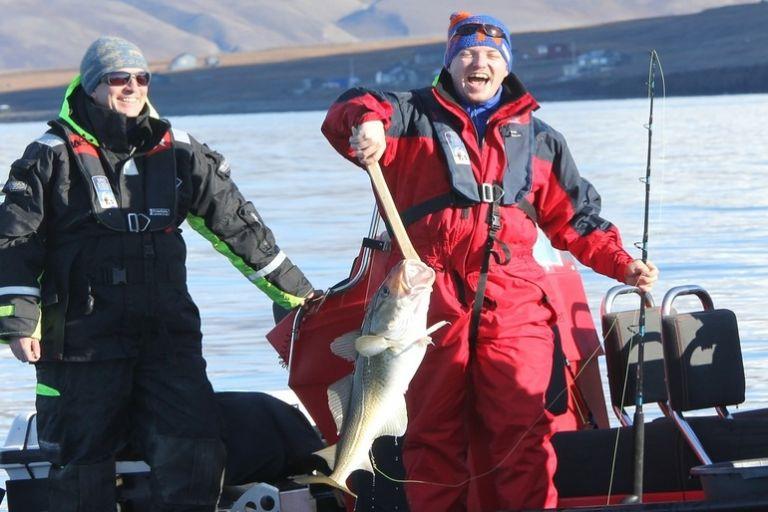 Риболовля на Шпіцбергені