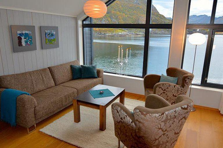 VIP риболовля в північній Норвегії на острові Сенья