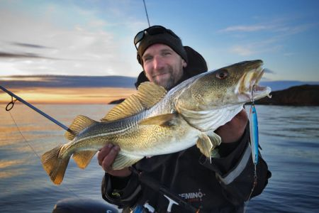 Трофейна риболовля в північній Норвегії (Анденес)