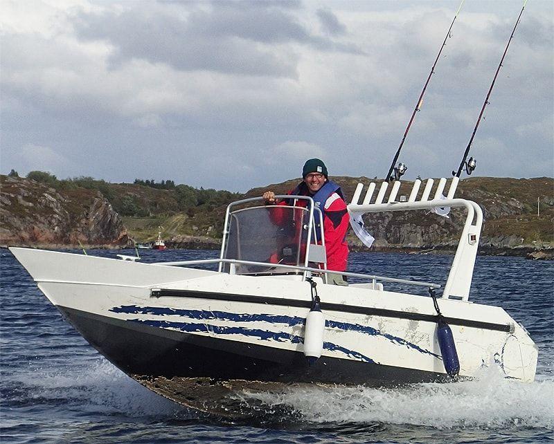 Риболовля на острові Хітра (Грефнес)