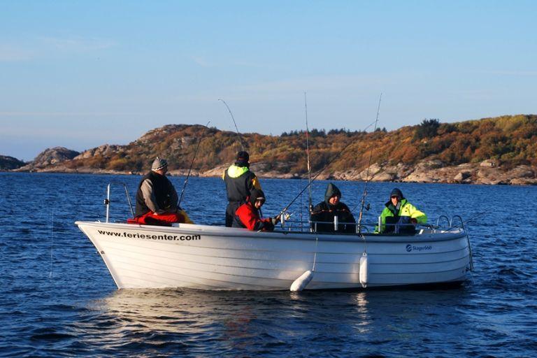 VIP рыбалка на острове Сутра (Берген, Норвегия)