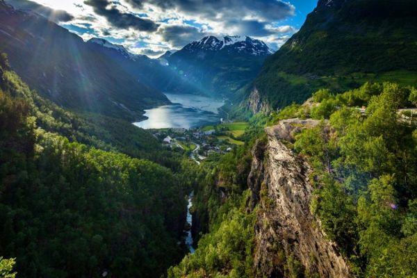 Большой авиатур по Норвегии