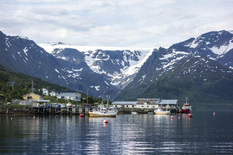 Риболовля в північній Норвегії в районі Альти