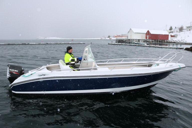 Рыбалка в северной Норвегии в районе Альты