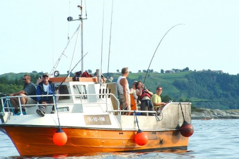 Рыбалка в районе Ставангера