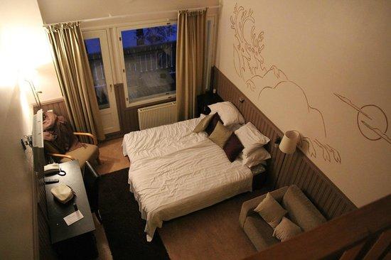 Семейный четырехместный номер с сауной (44 м²)