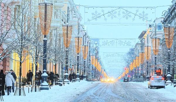 Новогоднее прибалтийское трио