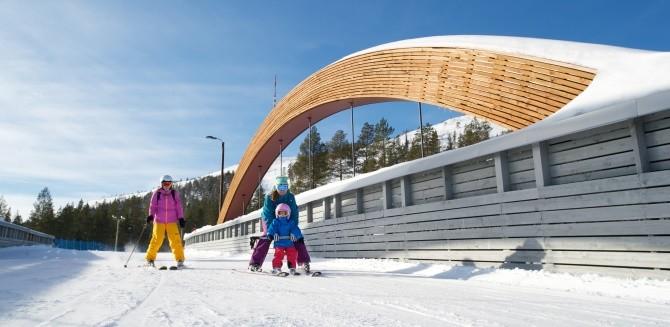 Лучшие зимние курорты Финляндии