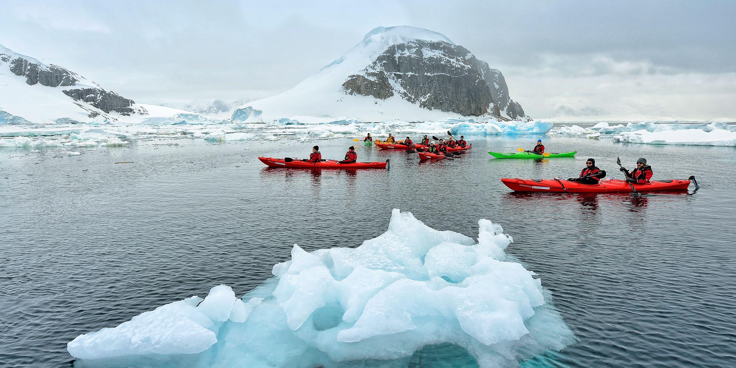 Подорож до Антарктики та Південної Америки