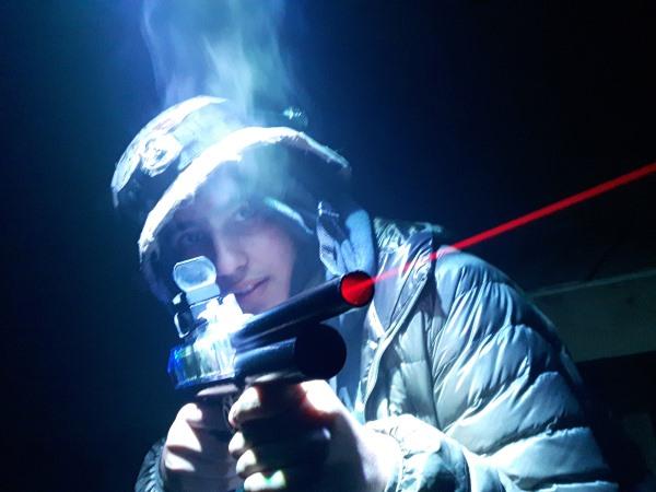 Лазертаг або Лазерний пейнтбол