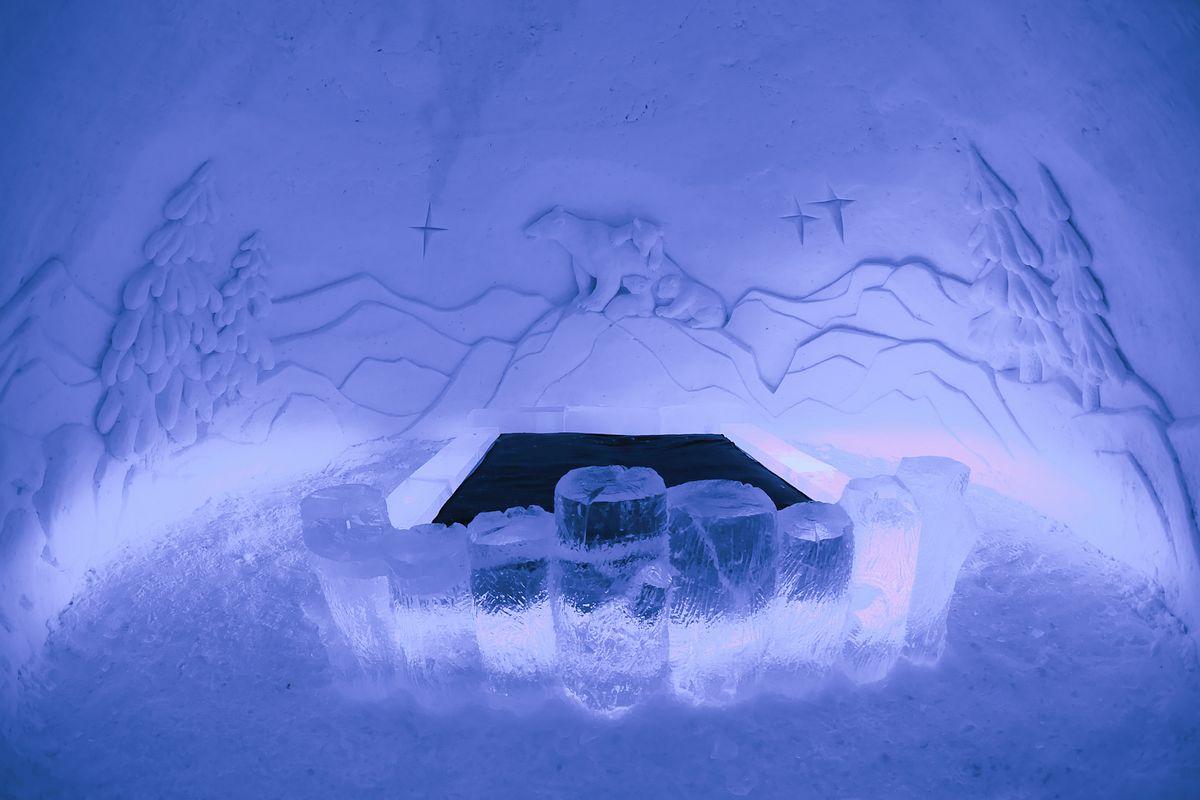 Снежный замок Лайнио