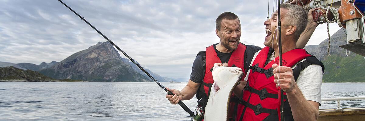 Платна морська рибалка на півночі