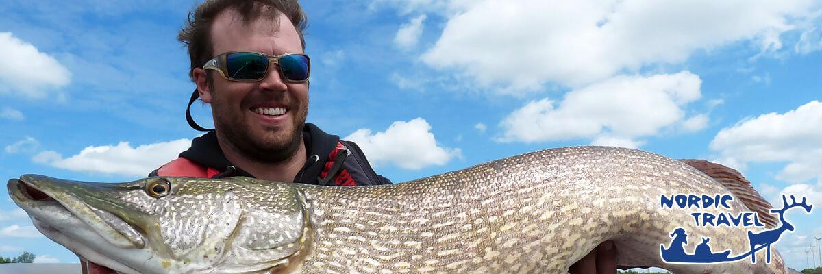 Рыбалка на щуку. Ловля щуки в Финляндии