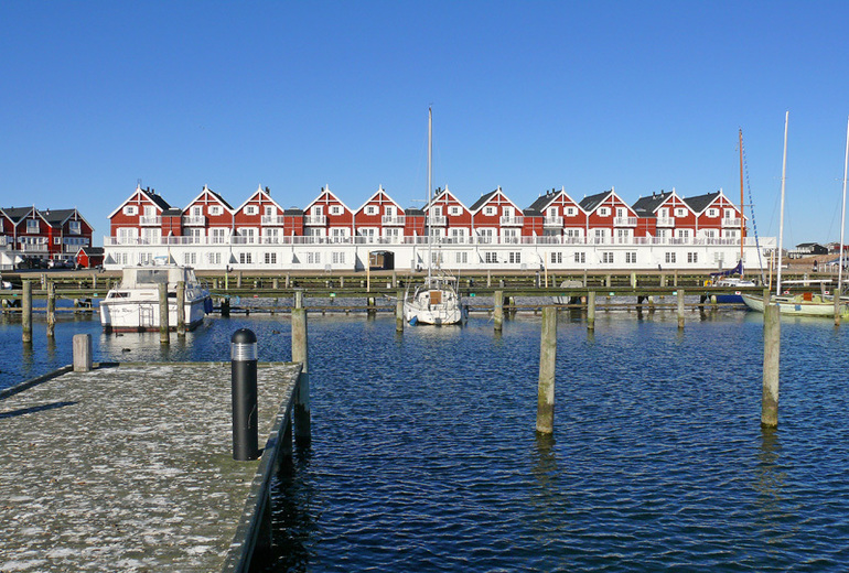 Морская рыбалка в Багенкопе на юге Дании