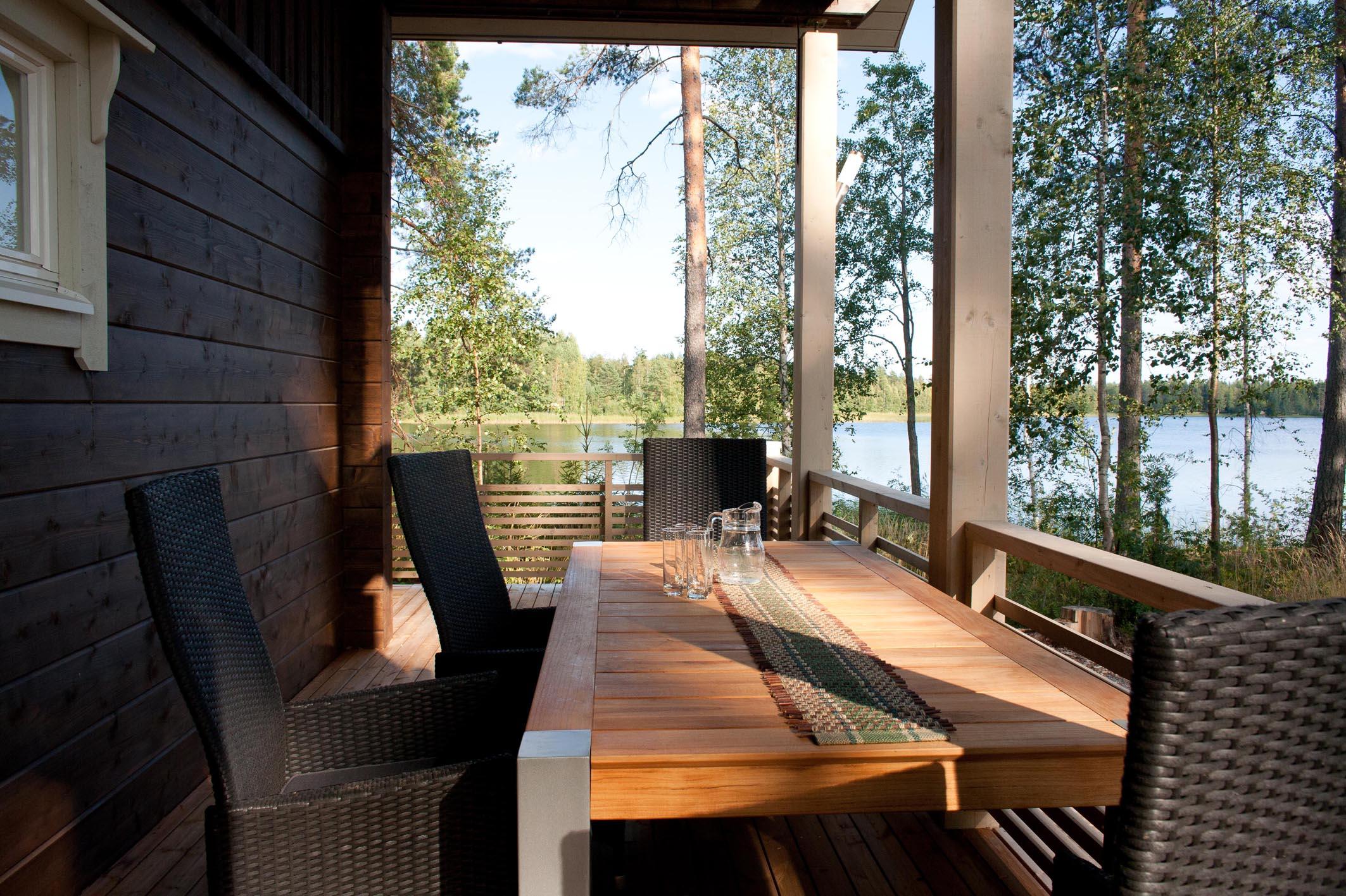 Озерная рыбалка и люкс отдых в Южном Саво (Финляндия)