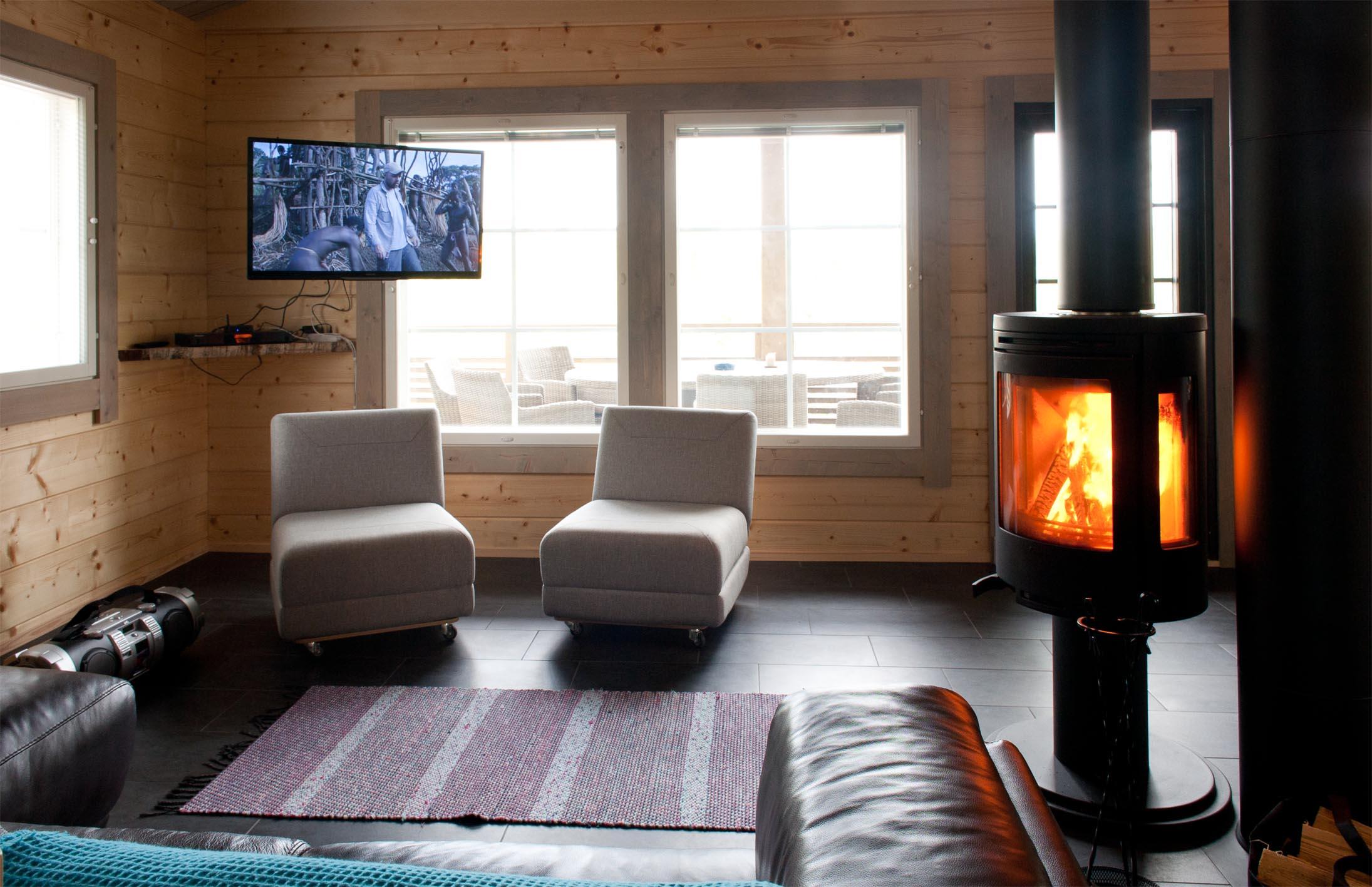 Озерна рибалка і люкс відпочинок у Південній Савонії (Фінляндія)