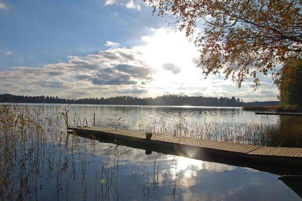 Рыбалка на озере Кюросярви в регионе Тампере