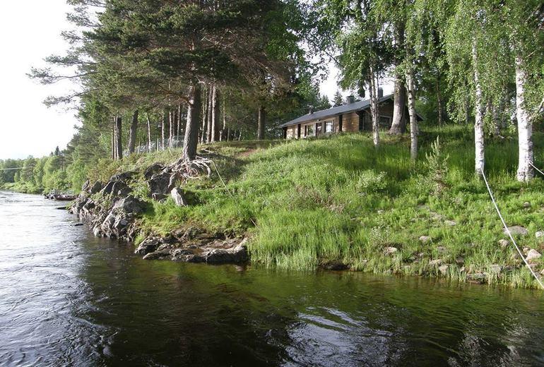 Лососевая рыбалка на севере Финляндии