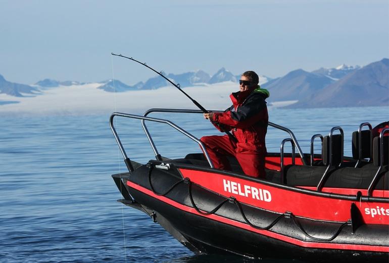Рыбалка на Шпицбергене