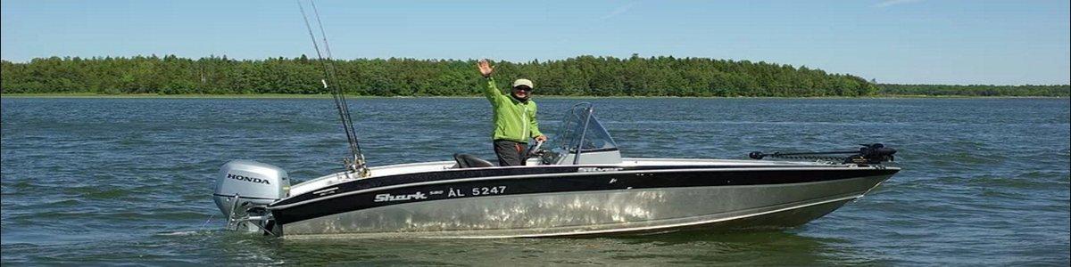 VIP рыбалка на Аландских островах