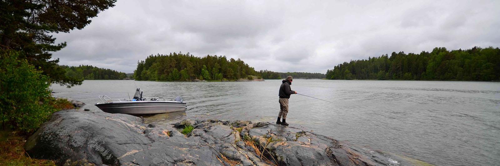 Секрети рибалки в Швеції